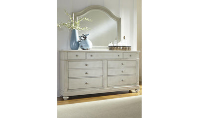 Harbor View III Dresser & Mirror-Jennifer Furniture