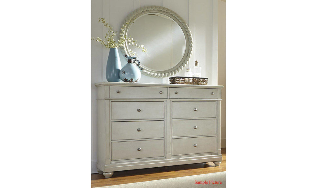 Harbor View III Opt Dresser & Mirror-Jennifer Furniture