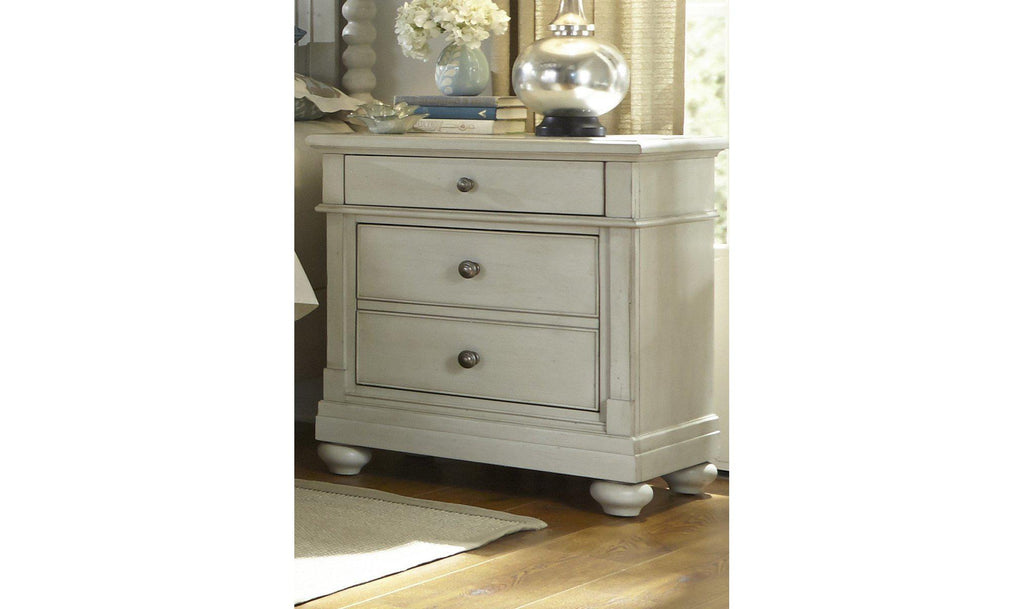 Harbor View III 2 Drawer Night Stand-Jennifer Furniture