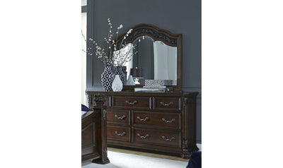 Messina Estates Dresser & Mirror-Jennifer Furniture