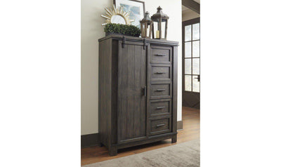 Warewood Sliding Door Chest-Jennifer Furniture