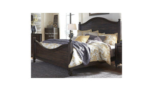 Catawba Hills King Poster Bed-Jennifer Furniture
