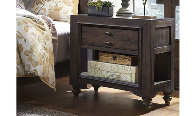 Catawba Hills Leg Night Stand-Jennifer Furniture
