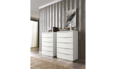 Onda Drop Chest-chests-ESF-5 Drawer-Jennifer Furniture