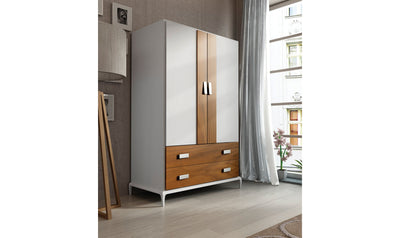 Malaga 2 Door Wardrobe Set-wardrobes-ESF-Jennifer Furniture