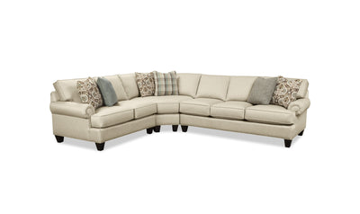 Rusty Sectional-sectionals-Craftmaster-Left-Arm Facing Loveseat + Pie Wedge + Right-Arm Facing Sofa-Jennifer Furniture