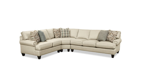 Melissa 4 pc Slipcover Sectional
