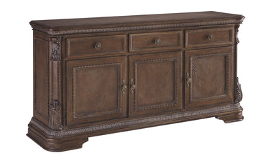 Charmond Dining Buffet Cabinet-buffets-Ashley-Buffet-Jennifer Furniture