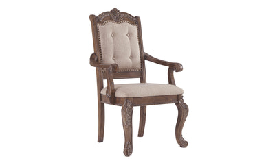 Charmond Dining Upholstered Arm Chair (2 Count)-arm chairs-Ashley-Jennifer Furniture