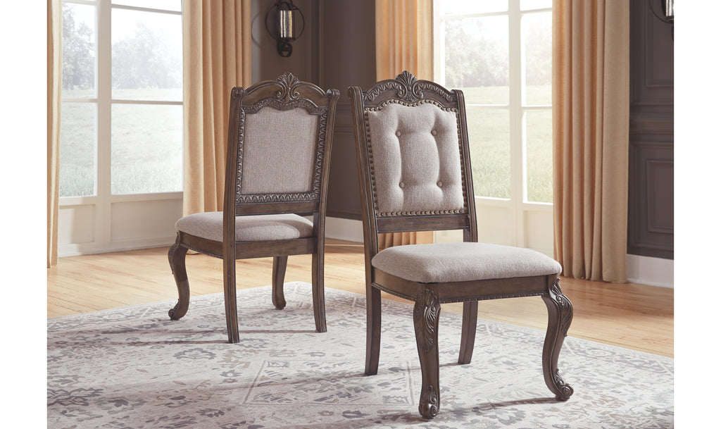 Charmond Dining Upholstered Side Chair (2 Count)