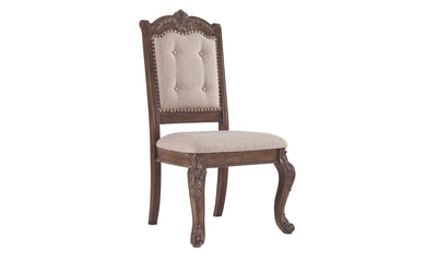 Charmond Dining Upholstered Side Chair (2 Count)-side chairs-Ashley-Jennifer Furniture
