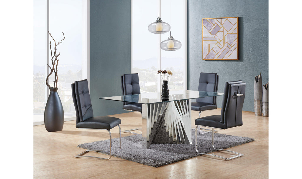 Jasmine Dining Table-Jennifer Furniture