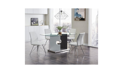 Giles Dining Table-dining tables-Global-Gray-Jennifer Furniture