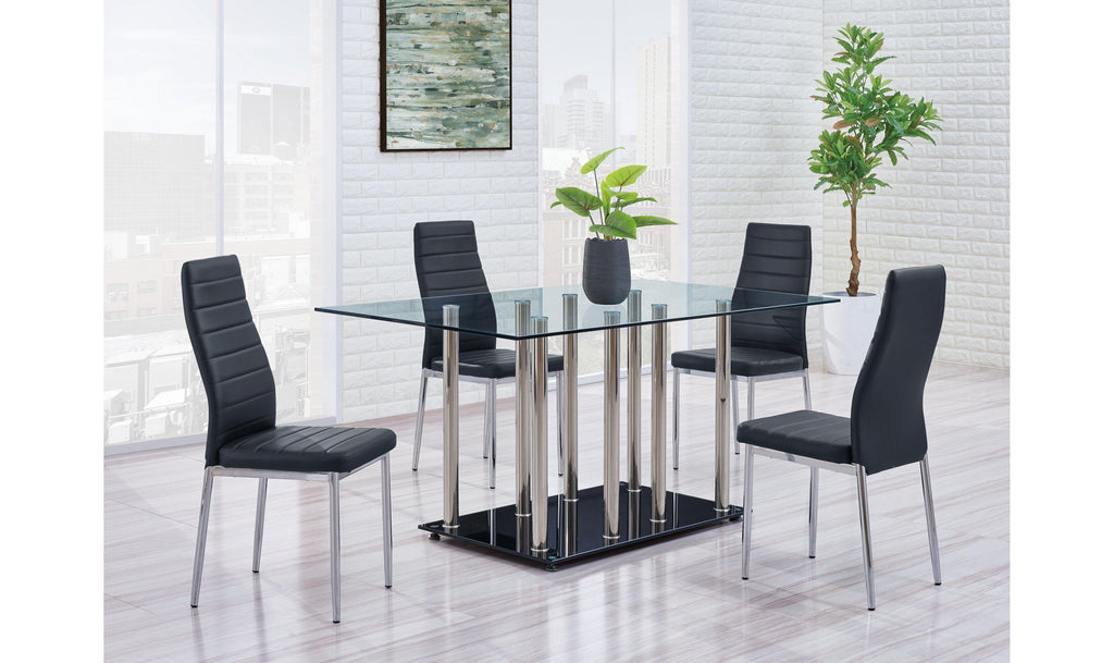 Cleo Dining Table-Jennifer Furniture