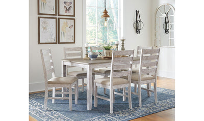 Skempton Dining Room Table and Chairs (Set of 7)-dining sets-Ashley-Jennifer Furniture