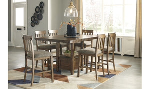 Haddigan Counter Dining Set-Jennifer Furniture