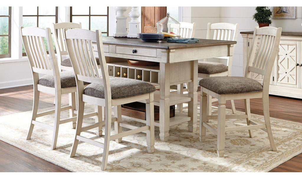 Beau Bolanburg Counter Height Dining Set ...