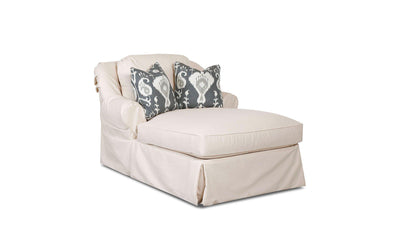 Linda Slipcover Chaise-chaises-Klaussner-Jennifer Furniture