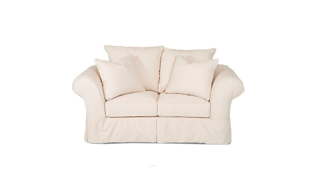 Linda Slipcover Loveseat-Jennifer Furniture
