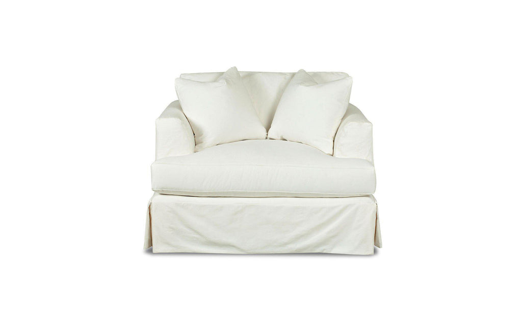 Melissa Slipcover Sofa Chair-Jennifer Furniture