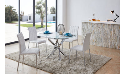 Amadi Extendable Dining Table-dining tables-ESF-Jennifer Furniture