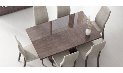 Prestige Extendable Dining Table-dining tables-ESF-Brown-Jennifer Furniture