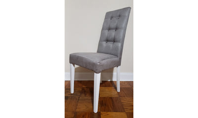 Elegance Dining Chair-side chairs-ESF-Gray-Jennifer Furniture