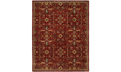 Large Empire Rug-rugs-Kalaty-8' Diameter-Russet-Jennifer Furniture