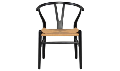 ALBAN CHAIR BLACK 367-side chairs-Nuevo-Jennifer Furniture