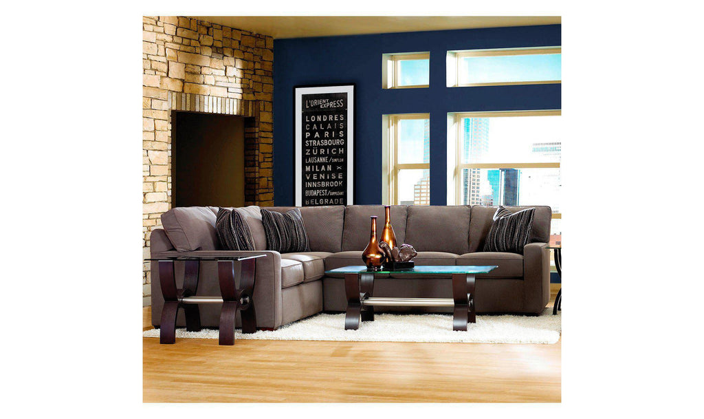 Living Room Furniture Jennifer Convertibles chandler 2-piece sectional – jennifer furniture
