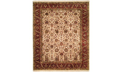 Kabir Rug-rugs-Kalaty-2' x 3'-Bgrred-Jennifer Furniture