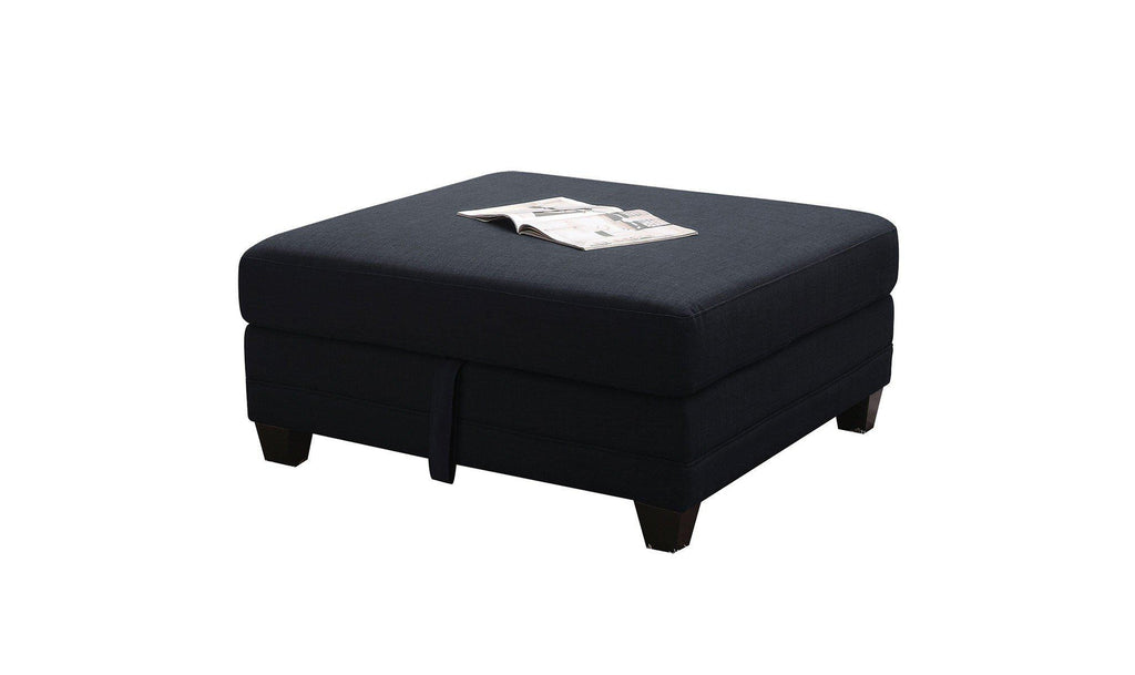 Keaton Storage Ottoman-Jennifer Furniture