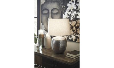 Magalie Metal Table Lamp (1/CN)-table lamps-Ashley-Jennifer Furniture