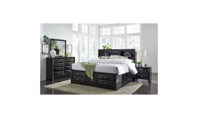 Gabriel Bed-beds-Global-Full-Black-Jennifer Furniture