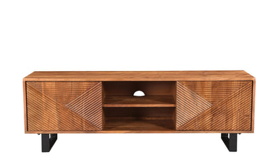 Linear Entertainment Unit-tv stands-Modarte-Jennifer Furniture