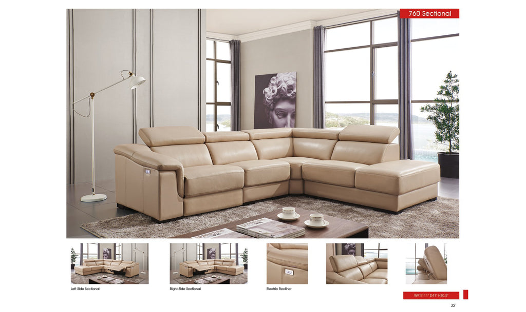 Akeem Sectional with Recliner