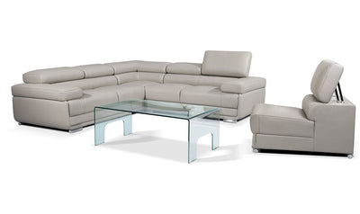 Albert Sectional-sectionals-ESF-Left-Arm Facing-Silver-Jennifer Furniture