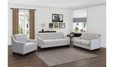 Milly Living Room Set-DISCONTINUED-Mstar-Sofa + Loveseat-Jennifer Furniture