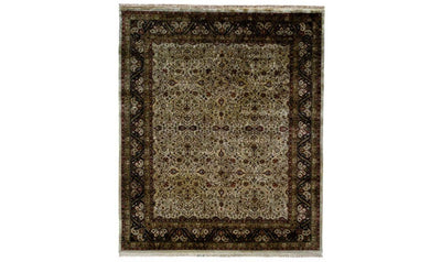 Majestic Rug-rugs-Kalaty-6' x 9'-Black-Jennifer Furniture