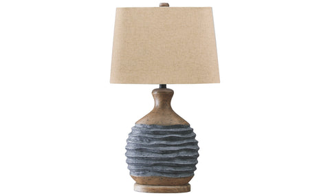 Zimba Wood Floor Lamp