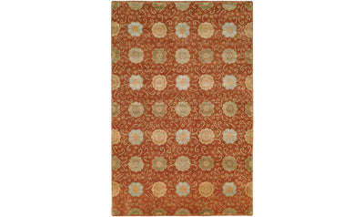Nirvana Rug-rugs-Kalaty-10' x 14'-Rust-Jennifer Furniture