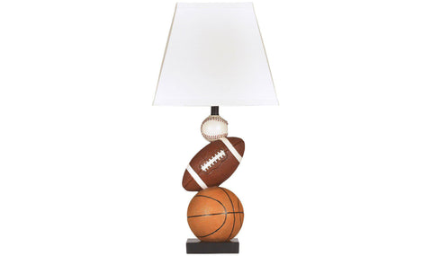 TABLE LAMP (BLACK/CHROME)