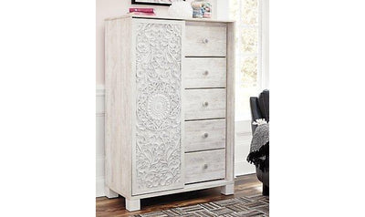 Paxberry Dressing Chest-dressers-Ashley-Jennifer Furniture
