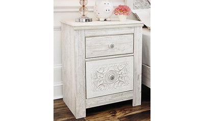 Paxberry Two-Drawer Nightstand-nightstands-Ashley-Jennifer Furniture