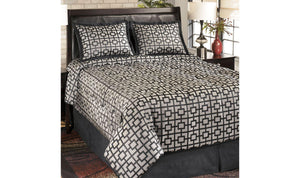 Maze Comforter Set-Jennifer Furniture