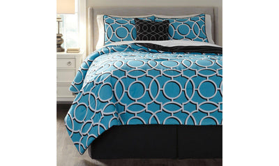 Zinger Comforter Set-Jennifer Furniture