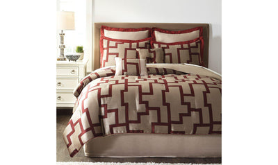 Aiza Comforter Set-Jennifer Furniture