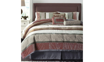 Jasie Comforter Set-Jennifer Furniture