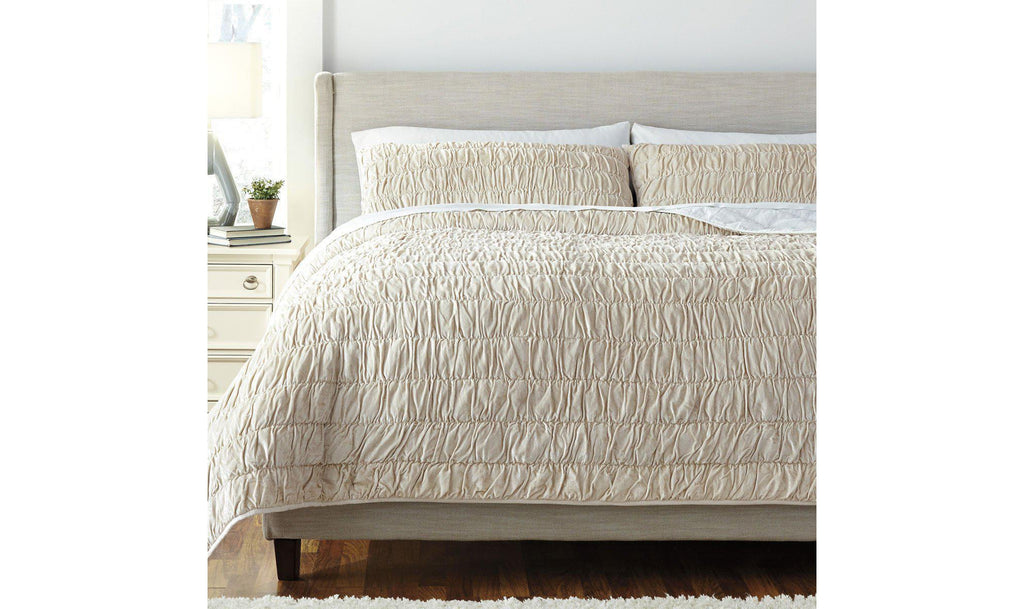 Stitched Coverlet Set