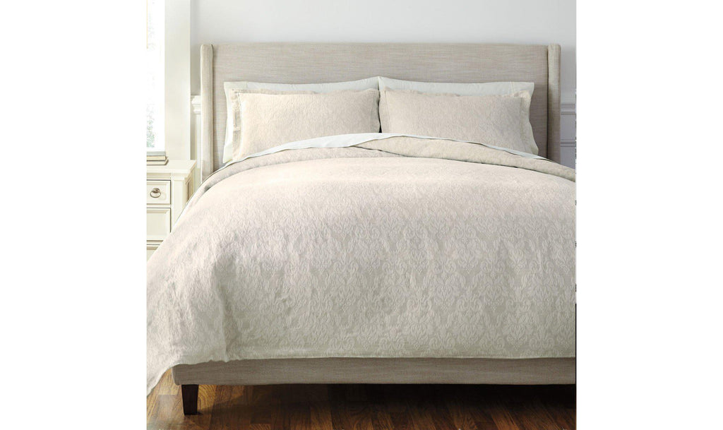 Damask Duvet Cover Set-Jennifer Furniture